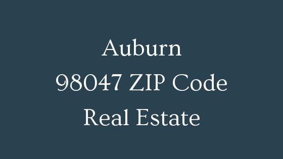 Auburn 98047 ZIP Code real estate