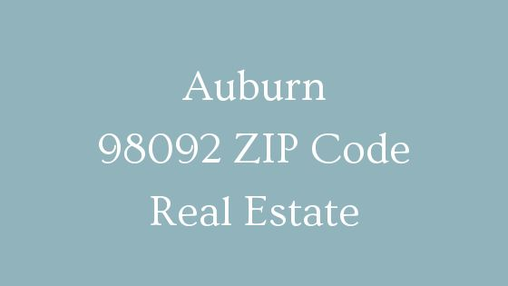 Auburn 98092 ZIP Code real estate