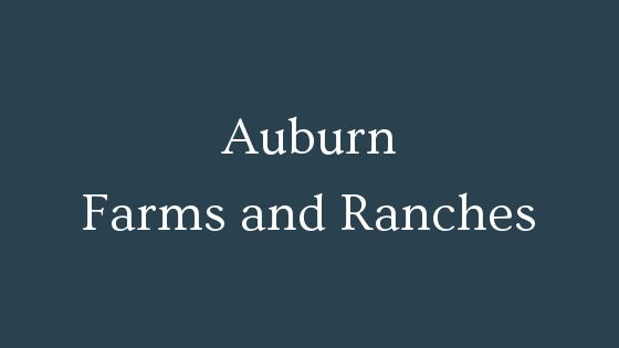 Auburn farms and ranches