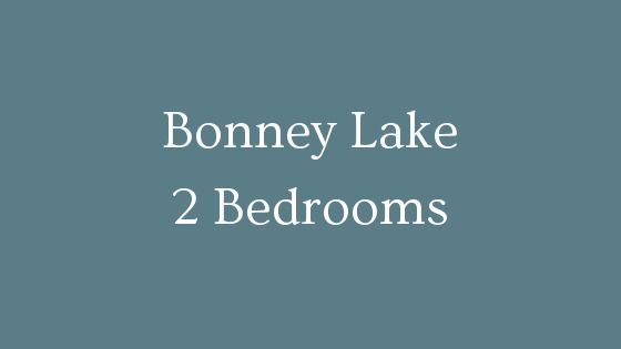 Bonney Lake 2 Bedrooms