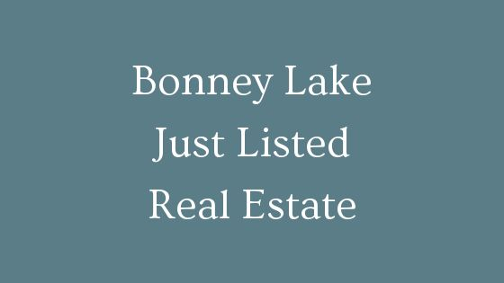 Bonney lake just listed real estate