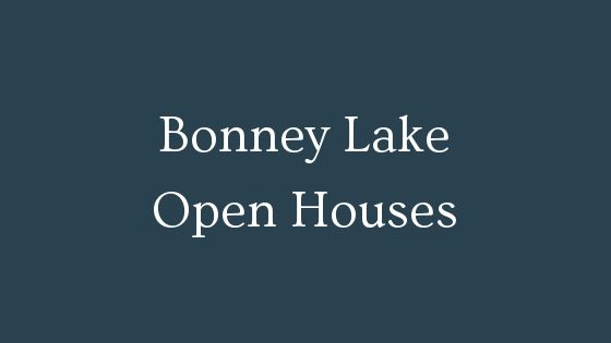 Bonney Lake Open Houses