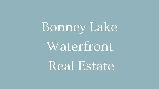 Bonney Lake waterfront real estate