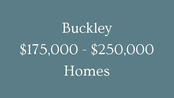 buckley 175000 to 250000 homes for sale