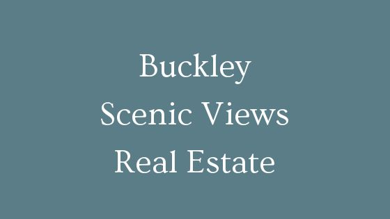 Buckley scenic views real estate