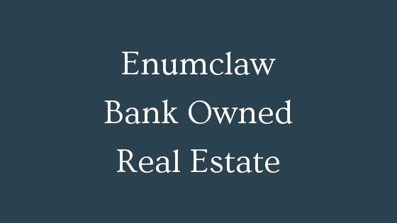 Enumclaw bank owned real estate