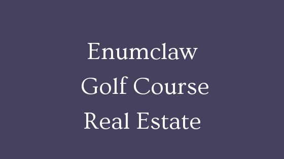 Enumclaw golf course homes