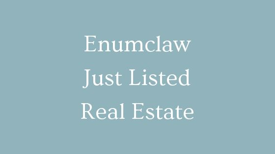 Enumclaw just listed real estate