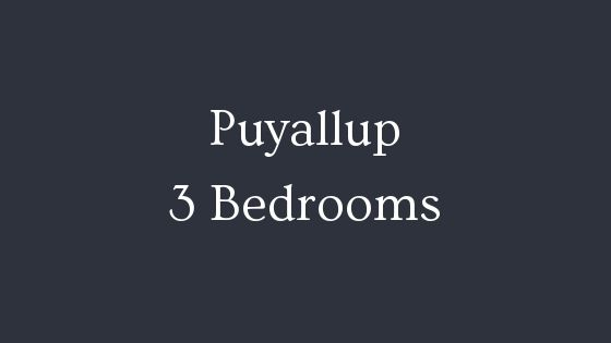 Puyallup 3 Bedrooms