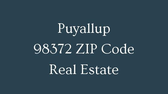 Puyallup 98372 ZIP Code Real Estate