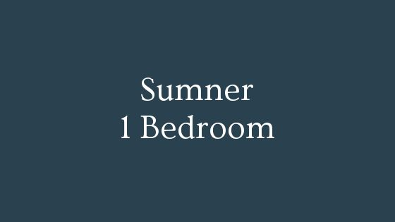 Sumner 1 Bedroom real estate