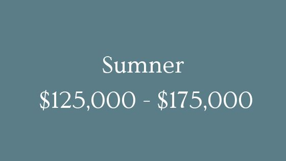 Sumner 125000 to 175000 real estate