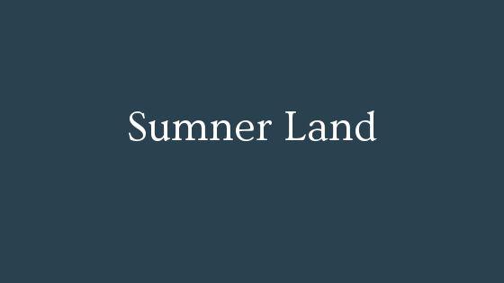 Sumner Land