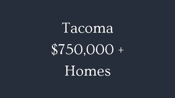 tacoma 750000 real estate