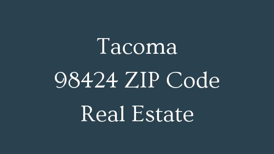 Tacoma 98424 Zip code real estate