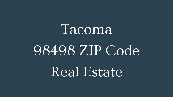 Tacoma 98498 zip code real estate
