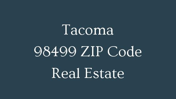 Tacoma 98499 zip code real estate
