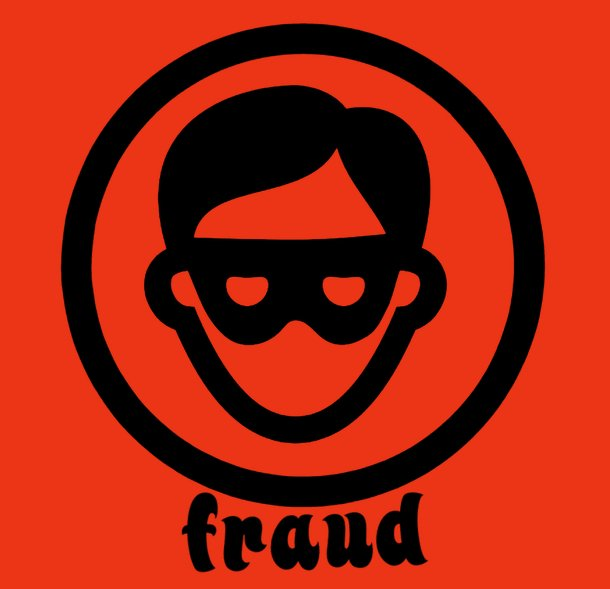 man in mask fraud
