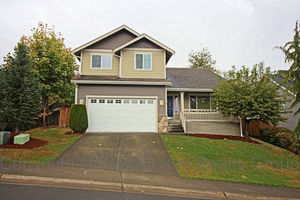 front of 17016 140th Ave E Puyallup 98374