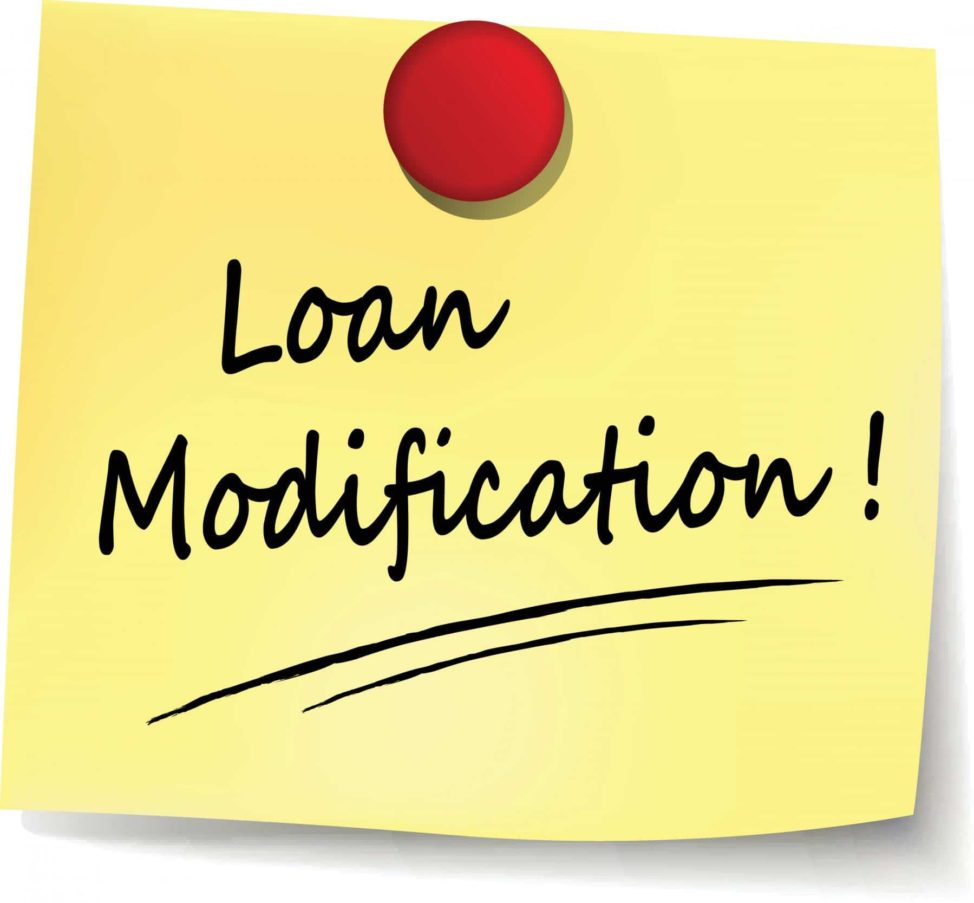 Loan Modification wirtten on a note