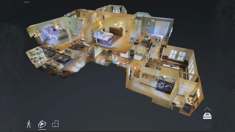 3D Model Virtual Tour of Home