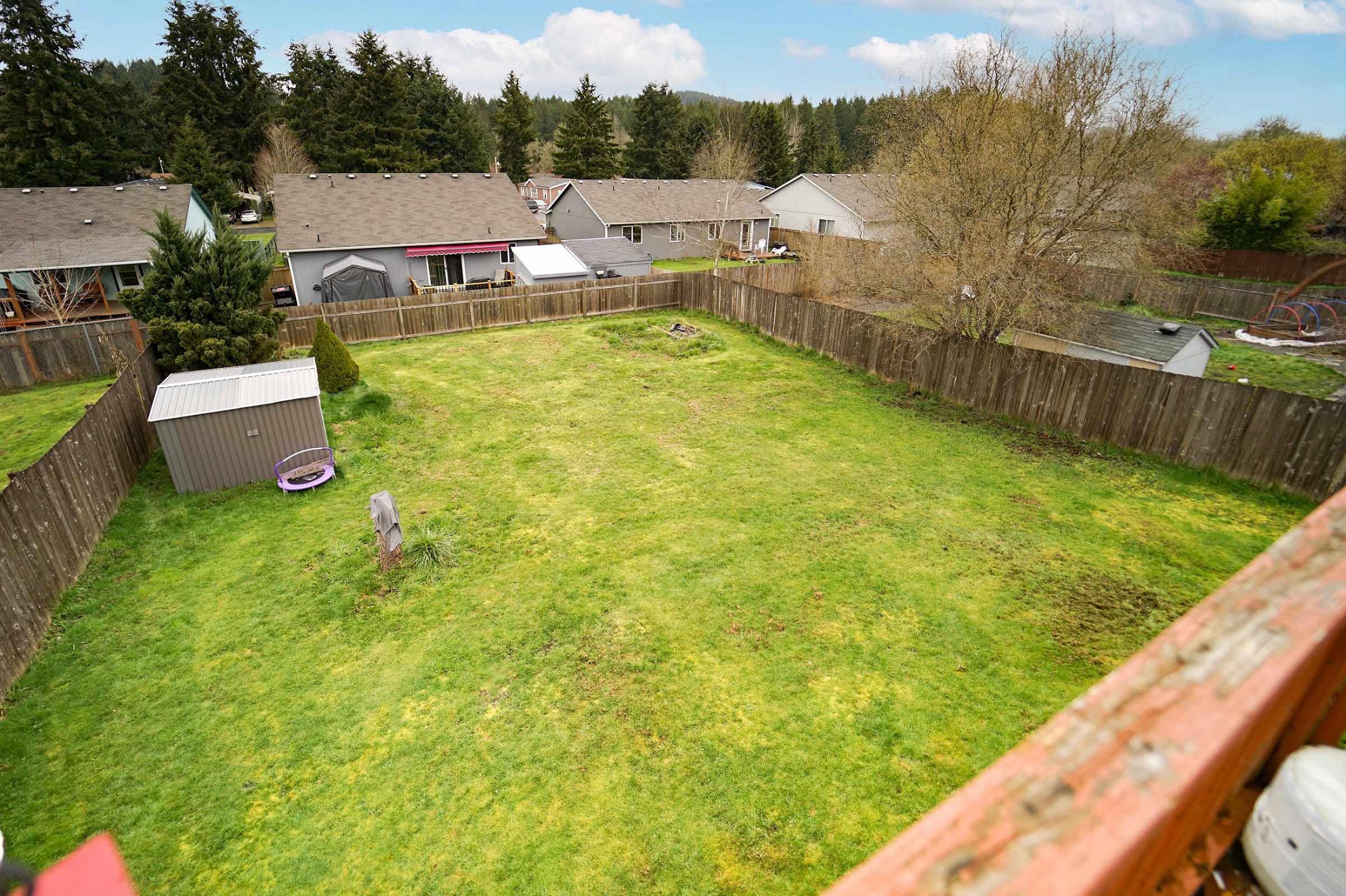Backyard home for sale