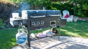 Large propane BBQ