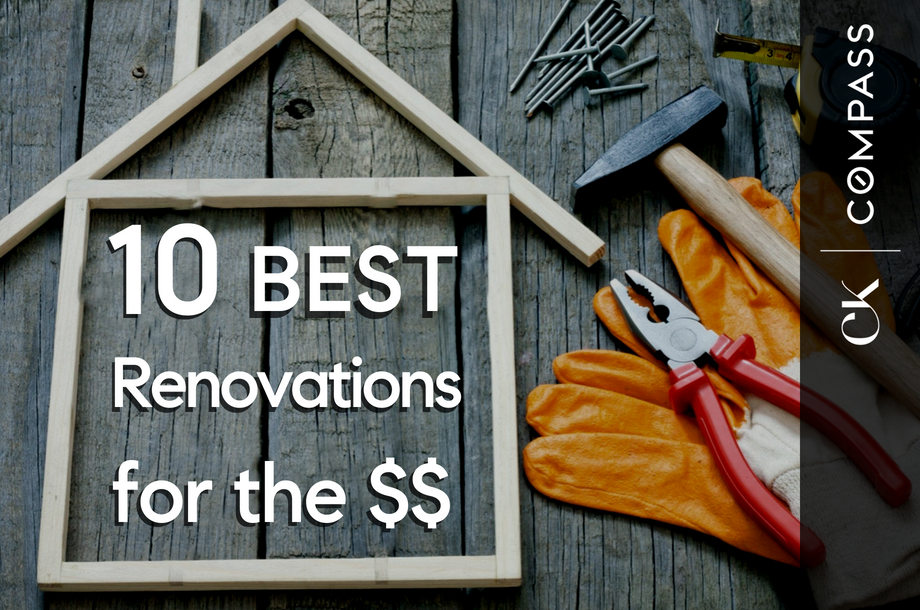 10 Best Renovations by ROI