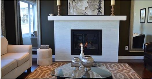 Homes Sold During Winter fire place