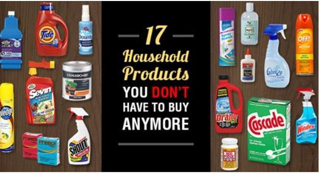 17 Household Products You Can Make Yourself Saving You Money