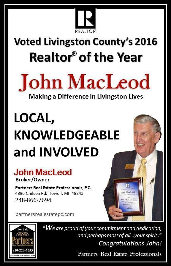 Realtor of The Year John MacLeod