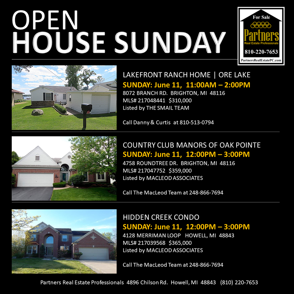 Triple Open House Event