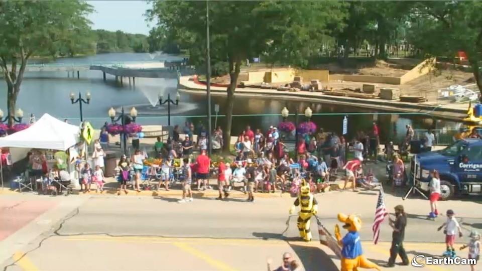police in brighton july 4th parade