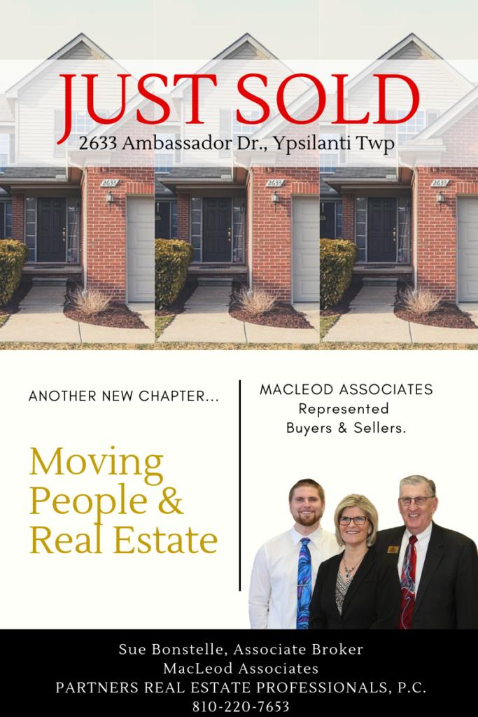 MacLeod Associates selling ypsilanti homes