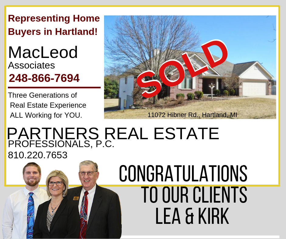 Hartland home sold