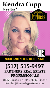 Kendra Cupp real estate business card