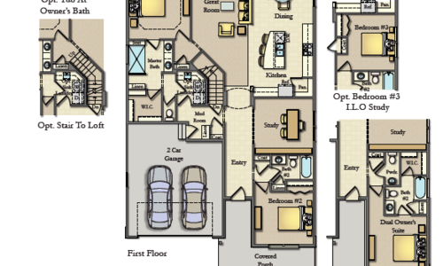 Chestnut Wicklow Main Floor Plan