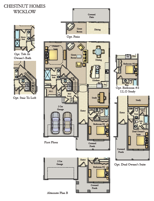 Chestnut Wicklow Main Floor Plan