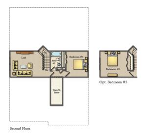 Wicklow Second Floor Option Plan