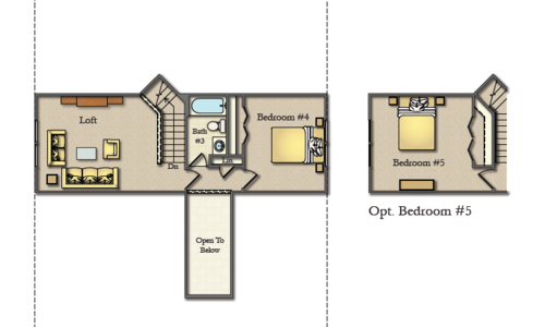 Wicklow Second Floor Option Plan