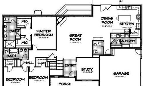 Evergreen Limited Main Floor Plan