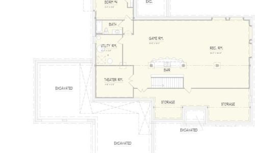 Woodland Lower Level Floorplan
