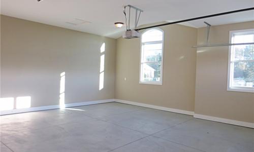 Woodland Garage Interior