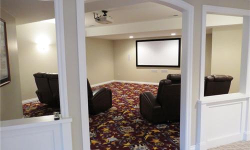 Woodland Media Room