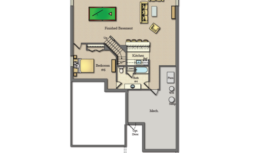 Wicklow Basement Floor plan