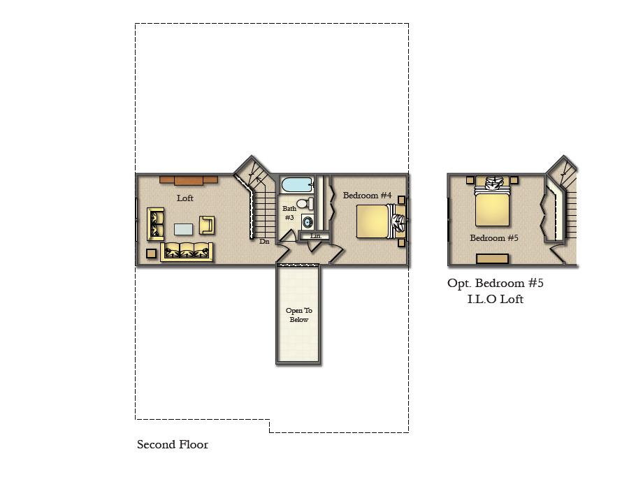 Wicklow Optional Second Floor