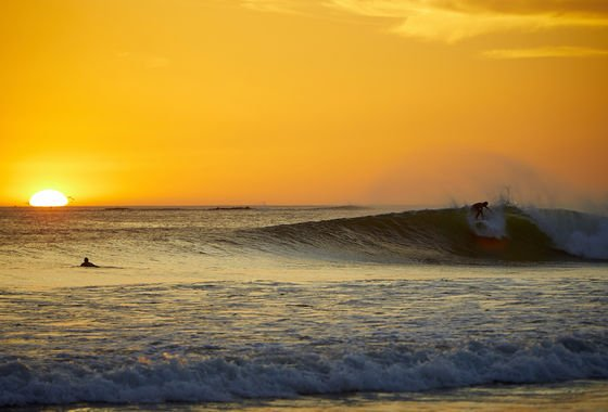 Surf and Sunset Playa Grande Costa Rica