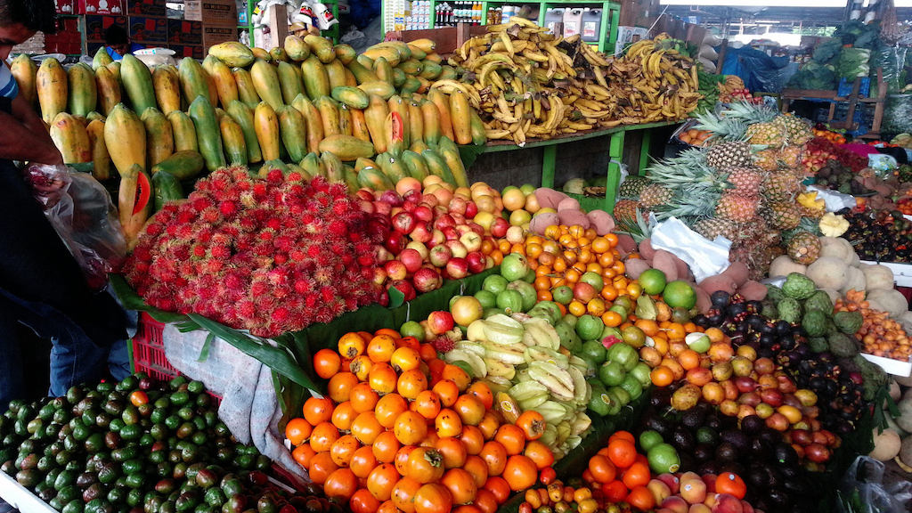 Food markets in Costa Rica