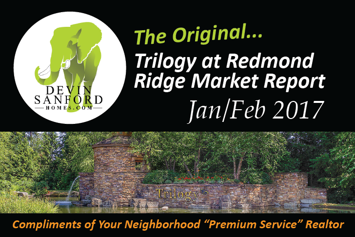 The Original Trilogy at Redmond Ridge Market Report