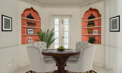 Preston Hollow Home Breakfast Room